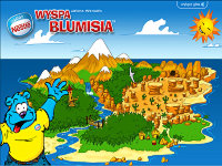 Wyspa Blumisia - Nestle - создано в VisualTeam