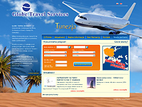 Globe Travel Services - transport lotniczy - создано в VisualTeam