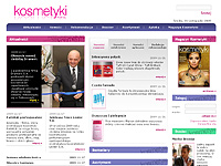 Media Direct - portal KOSMETYKI - создано в VisualTeam