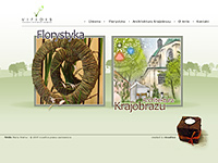 Viridis - Architektekt Krajobrazu, Florystka - создано в VisualTeam