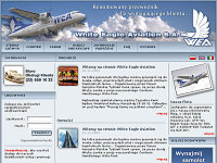 White Eagle Aviation - linie lotnicze - создано в VisualTeam